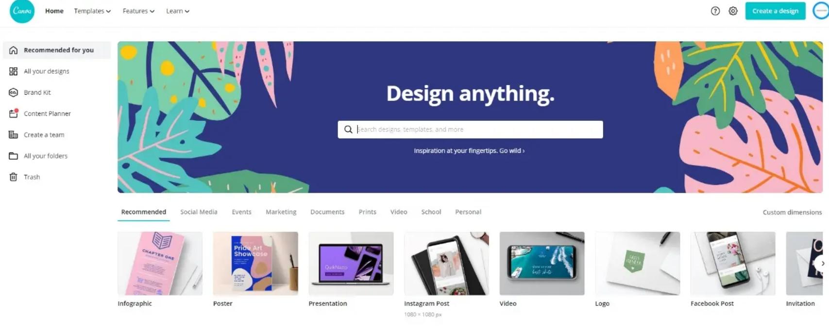 instagram design software
