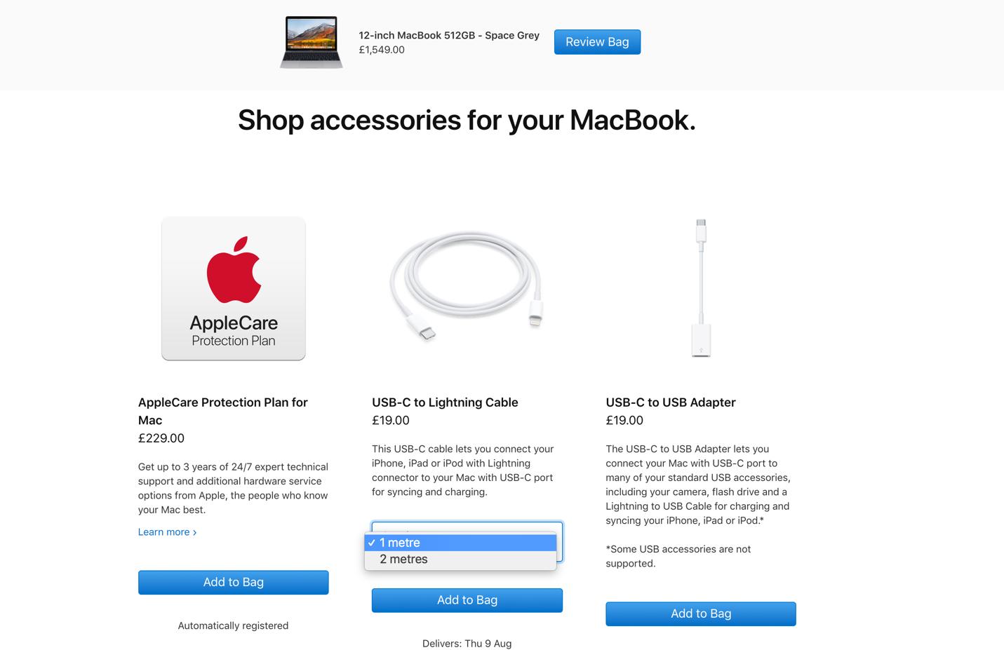 apple cross selling